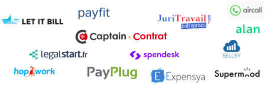 Logo startup creation gestion patamiel