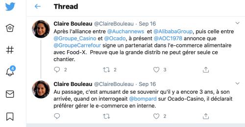 Twitter claire bouleau patamiel
